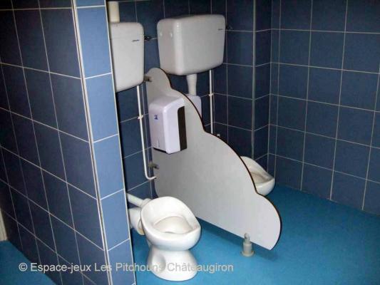 Le coin toilettes